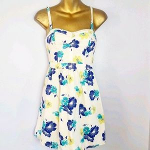 American Eagle floral sundress size XS